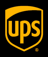 Логотип компании UPS